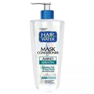 ماسک مو هیر واتر کامان مناسب موهای معمولی تا کمی چرب حجم 400 میل