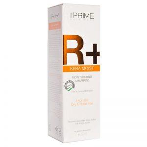 شامپو رطوبت رسان پریم مدل +R مناسب موهای خشک و آسیب دیده حجم 250 میل