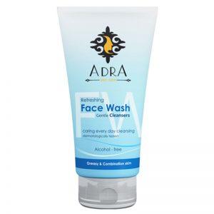 ژل شستشوی صورت آدرا مناسب پوست های چرب و مختلط حجم 150 میل