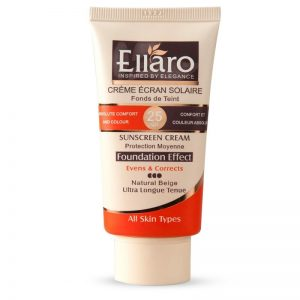 کرم ضد آفتاب SPF25 مناسب انواع پوست سری Foundation Effect الارو 40 میل-بژ طبیعی