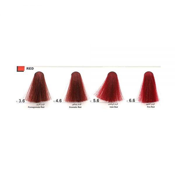 رنگ موی دوماسی 120 میل قرمز آتشین-6.6