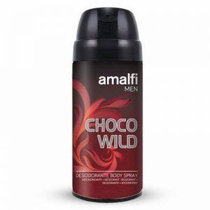 اسپری بدن مردانه آمالفی مدل Choco Wild حجم 150 میل