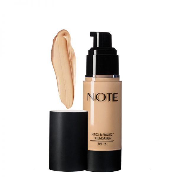 کرم پودر محافظت کننده نوت مدل Detox & Protect مناسب انواع پوست حجم 35میل شماره 10