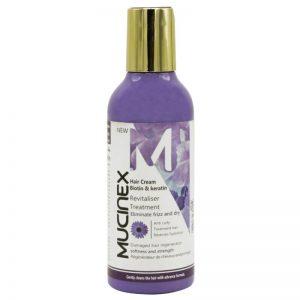 کرم مو بیوتین و کراتین ماسینکس مناسب موهای خشک و آسیب دیده حجم 200 میل