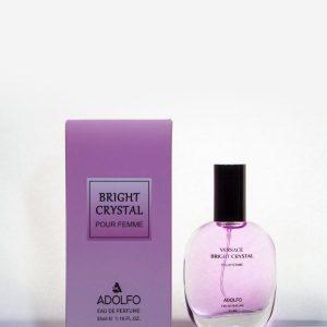 عطر جیبی زنانه آدولفو Adolfo مدل Bright Crystal حجم 35 میلی لیتر