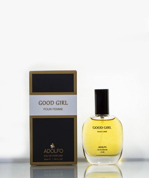 عطر جیبی زنانه آدولفو Adolfo مدل Good Girl حجم 35 میلی لیتر