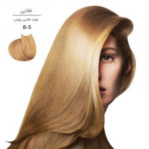 رنگ موی مارال 100 میل8.5-بلوند طلایی روشن