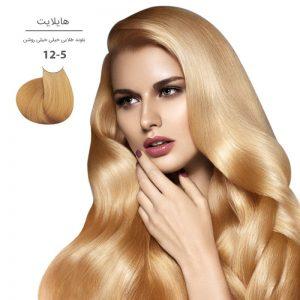 رنگ موی مارال 100 میل 12.5-بلوند طلایی خیلی خیلی روشن