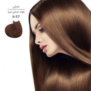 رنگ موی مارال 100 میل 6.57-بلوند عسلی تیره