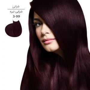 رنگ موی مارال 100 میل3.99-شرابی تیره