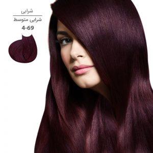 رنگ موی مارال 100 میل 4.69-شرابی متوسط
