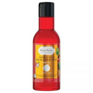 میسلار واتر دیپ سنس حاوی عصاره میوه ھای استوايی مناسب پوست ھای حساس حجم 160 میل