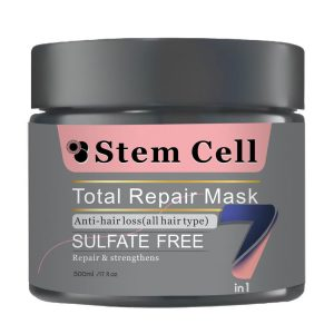 ماسک مو هفت کاره و ضد ریزش مناسب انواع مو 500میل استم سل